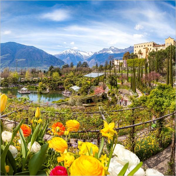A Merano, i Giardini di Sissi sbocciano per la stagione 2018