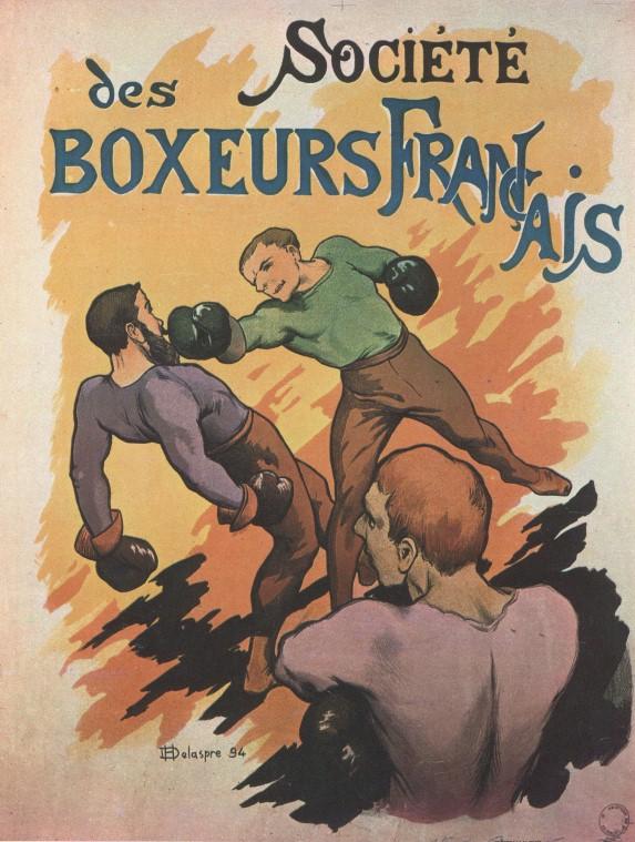 Manifesti d'epoca: Société des Boxeurs Français