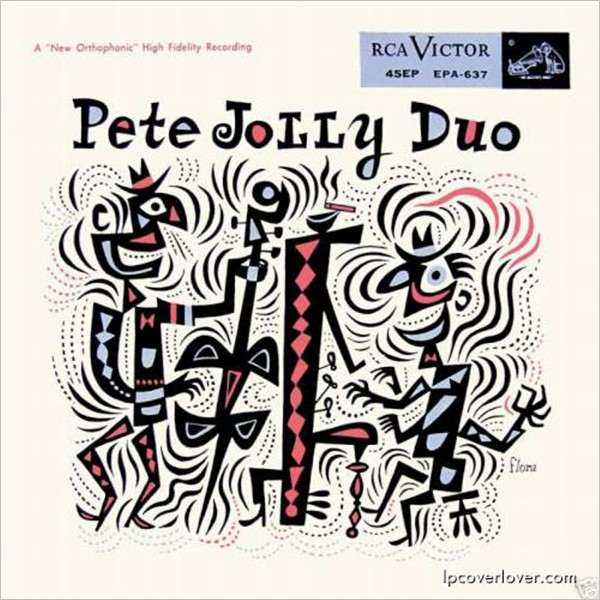 Vinyl Records Covers: Pete Jolly Duo
