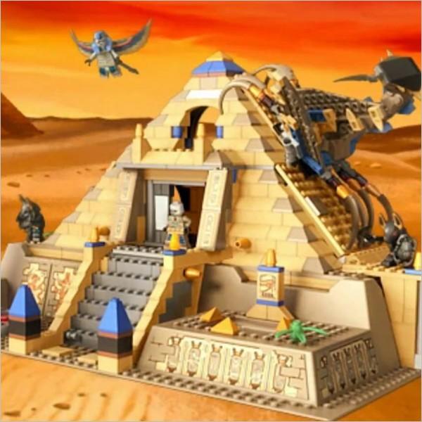 Gioca e impara con i Lego sulle sponde del Nilo