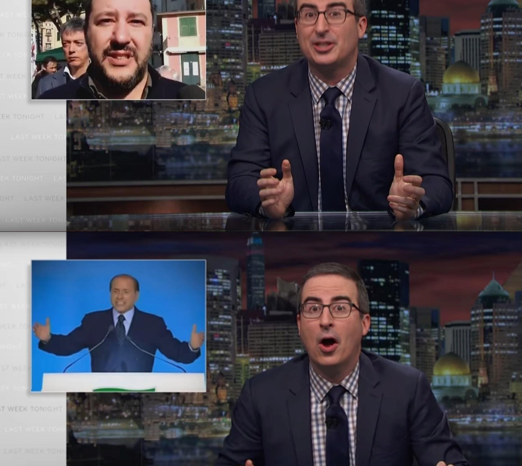Le elezioni italiane viste da John Oliver
