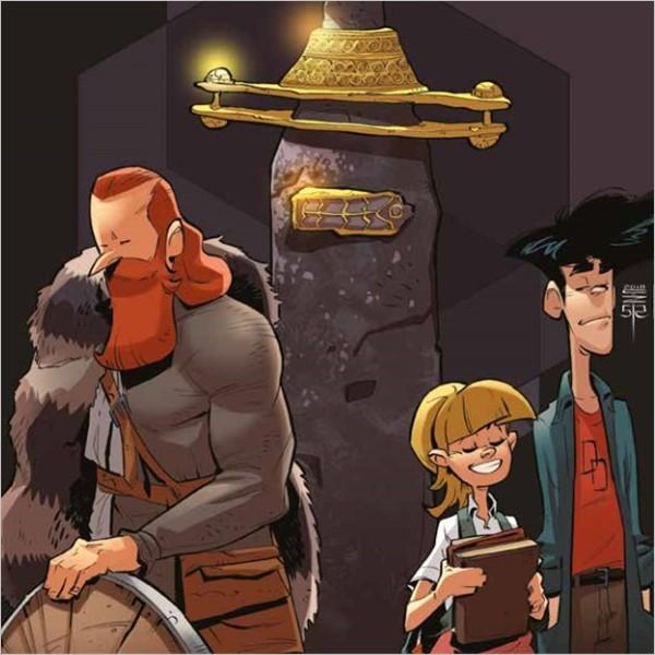 I Longobardi a fumetti; la guida Kids per la mostra al MANN