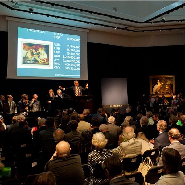 Il mercato dell'Arte cresce. E la Cina supera il Regno Unito