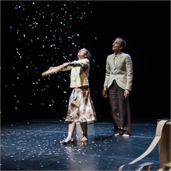 """""""Tempo"""", spettacolo di teatro danza con Federica Tardito e Aldo Rendina"""
