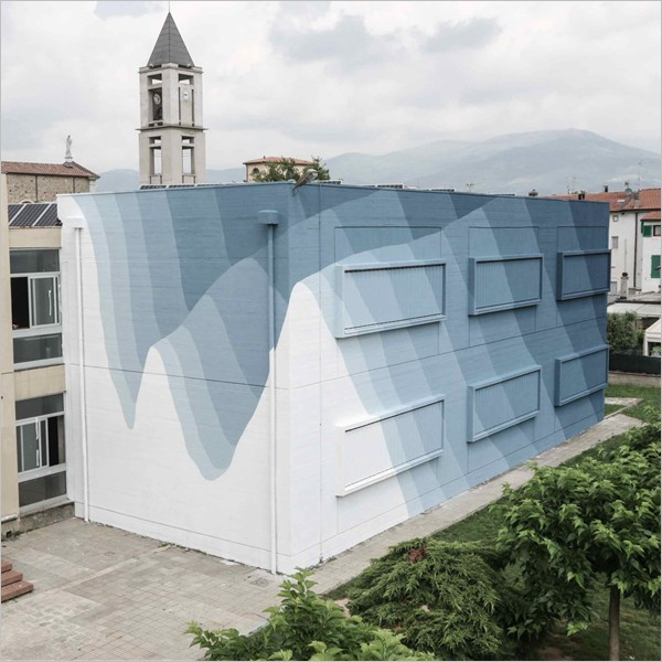 La scuola dipinta di Agliana: la Street Art educa sui cambiamenti ambientali