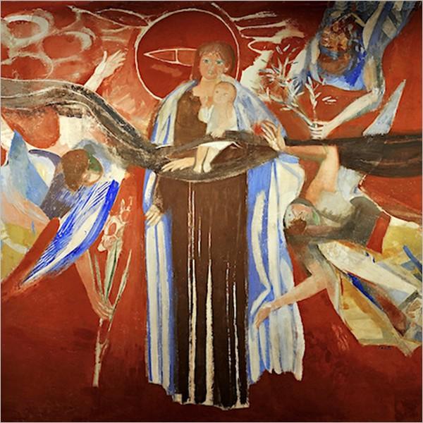 La Virgo Carmeli di Bruno Saetti torna a nuova vita