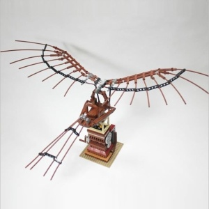 L'Ornitottero di Leonardo in mattoncini Lego