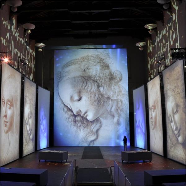 Da Vinci Experience. A Firenze lo spettacolo multimediale, immersivo ed emozionale
