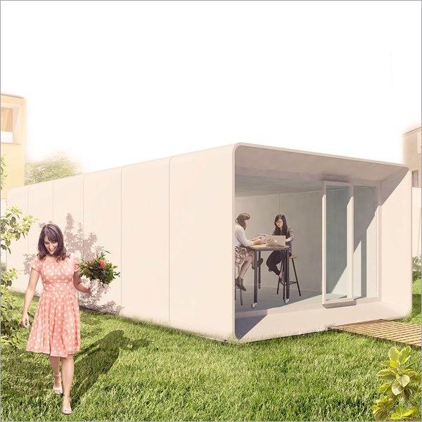 """""""Domani"""", l'eco-casa sostenibile per un nuovo modo di vivere le città"""
