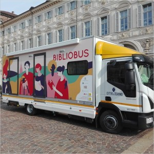 Arriva il Bibliobus! Una vera e propria biblioteca itinerante gira per Torino