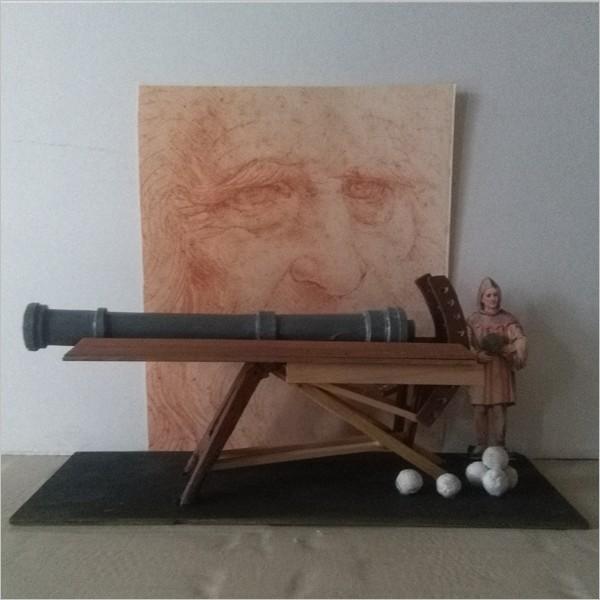 Le macchine di Leonardo in mostra a Torino