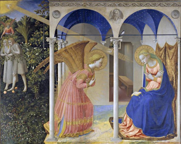 American Friends of the Prado Museum e Friends of Florence finanziano il restauro de L'Annunciazione del Beato Angelico
