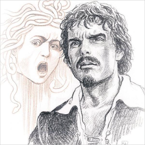 Con Caravaggio - Incontro spettacolo con l'opera e l'artista