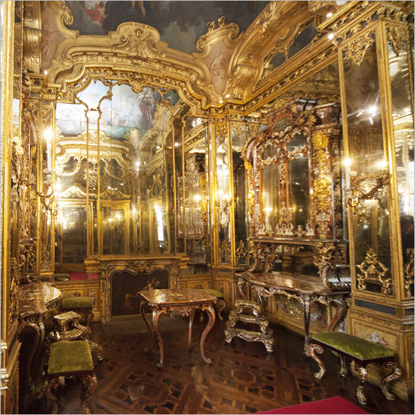 Restaurate e pronte ad accogliere i visitatori le sale del Gabinetto del Segreto Maneggio degli Affari di Stato di Palazzo Reale