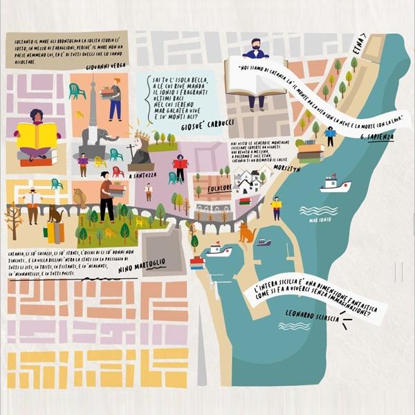 Giri di Parole, il primo club di lettura itinerante di Catania