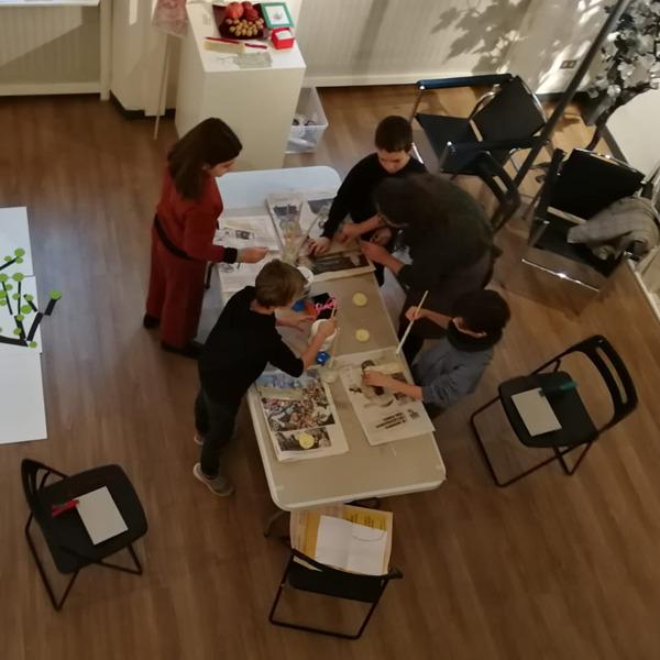 Laboratori di grafica d'arte per bambini alla Fondazione Federica Galli