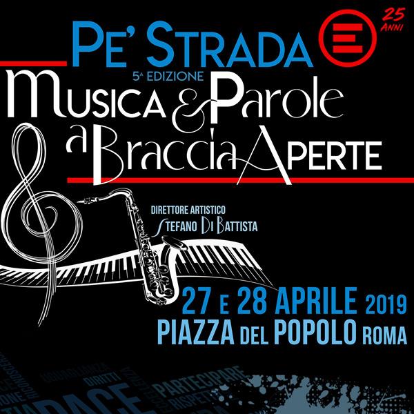 """""""Pe' Strada"""" per Emergency. Musica e parole a braccia aperte"""