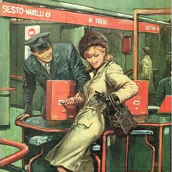 La rossa con occhi nuovi: lezione sulla Metropolitana Milanese