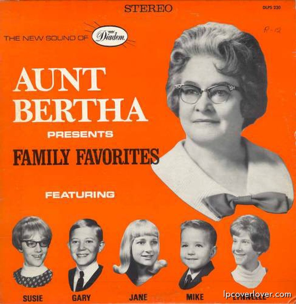 B-Covers, il Meglio del Peggio: Aunt Bertha presents Family Favorites
