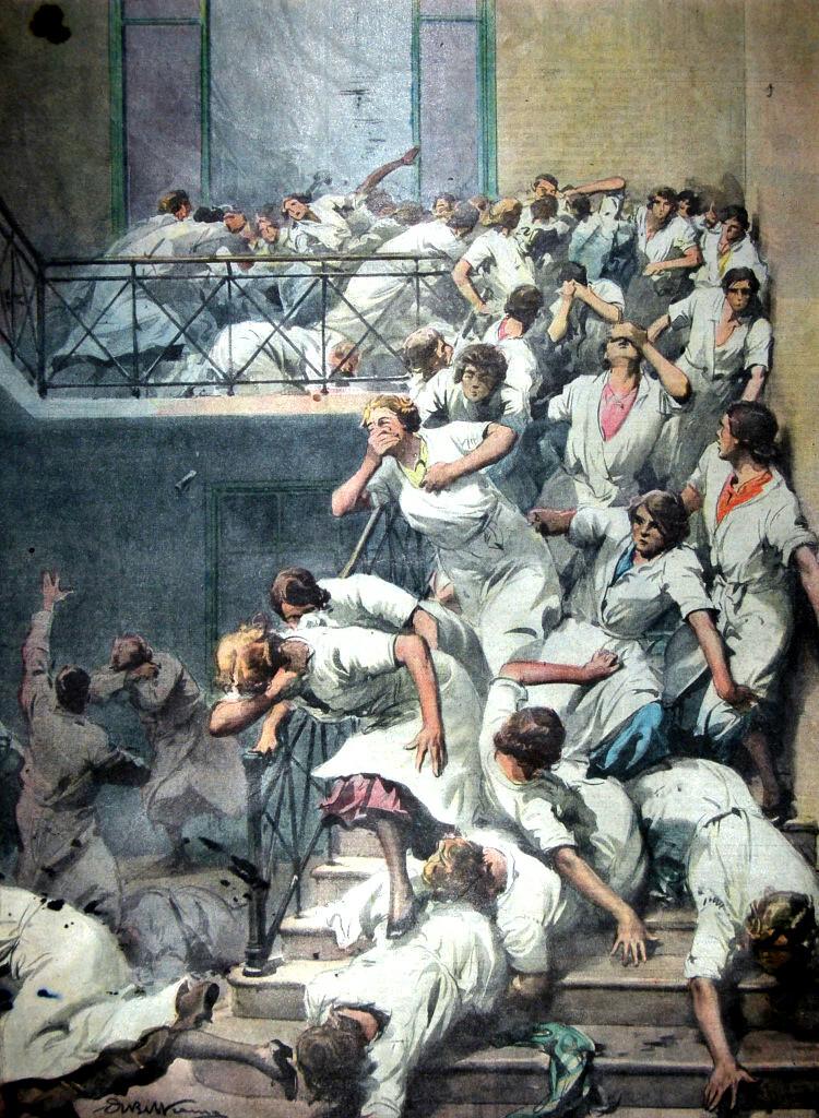 I Disegni di Achille Beltrame: Il pericolo invisibile