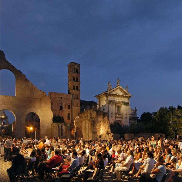 Incontri letterari della Milanesiana alla Basilica di Massenzio